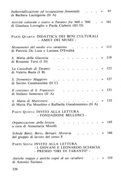 Galaesus XIII indice 2