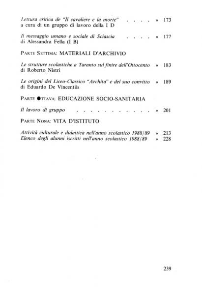 Galaesus XIII indice 3