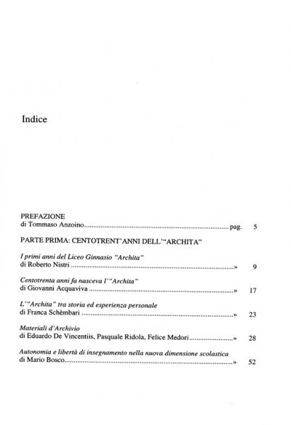 Galaesus XXVI indice 1