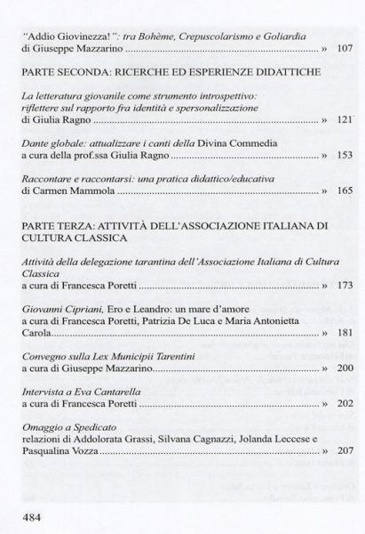 Galaesus XXXII indice 2
