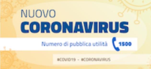 Emergenza nuovo CORONAVIRUS